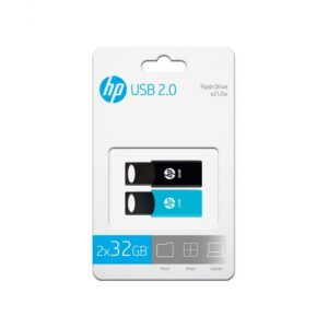 USB HP 212 2X32GB BLANCA 2.0 TWIN