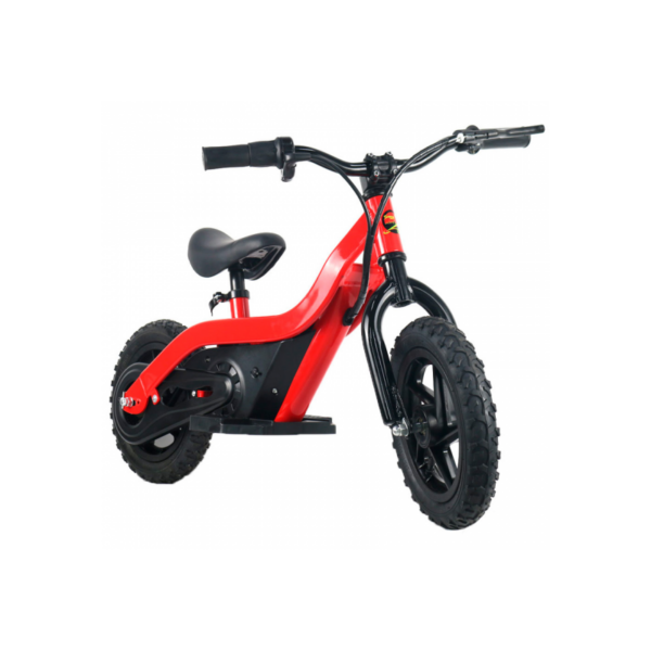 bicicleta electrica smeco sm bb  w nino roja