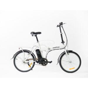 bicicleta electrica skateflash sk folding blanco