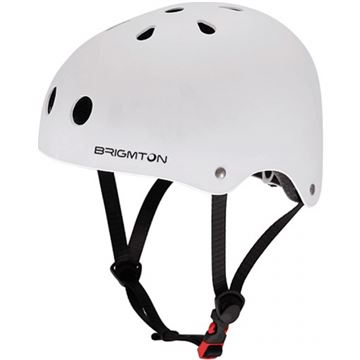 casco brigmton bh  b blanco acolchado