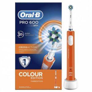 oral b pro  cepillo dental electrico naranja