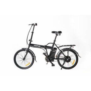skateflash folding e bike black
