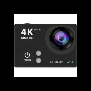 videocam brigmton bsc hdk k  fps wifi microsd
