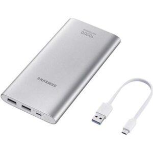 Bateria Externa Universal Power Bank   mAh Samsung Plata
