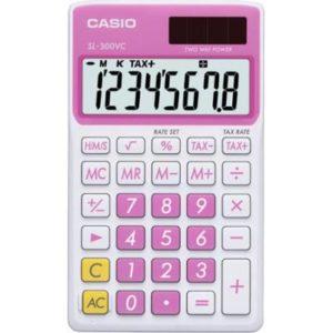 Calculadora Casio Sl  Rosa