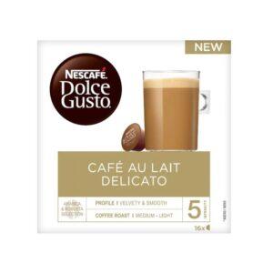 estuche dolce gusto cafe au lait delicato cap