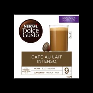 estuche dolce gusto cafe au lait intenso cap