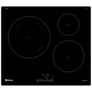 balay ebers placa de induccion  zonas negra especificaciones