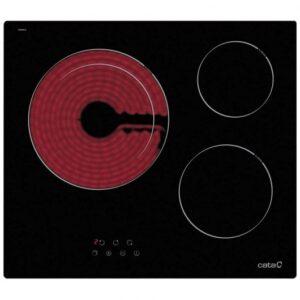 cata td  placa vitroceramica  zonas negra mejor precio