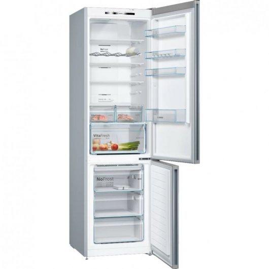 bosch kgnviea frigorifico combi a acero inoxidable caracteristicas