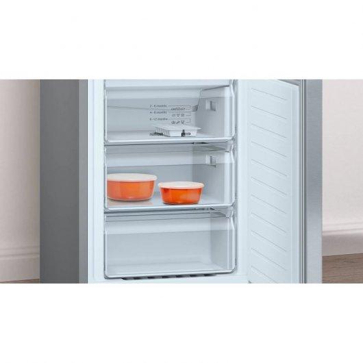 balay kfexi frigorifico combi a acero inoxidable aebd a d bbff aef
