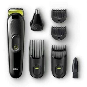 braun mgk  barbero  en  negro