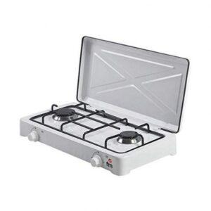 fm calefaccion hg  cocina de gas blanca