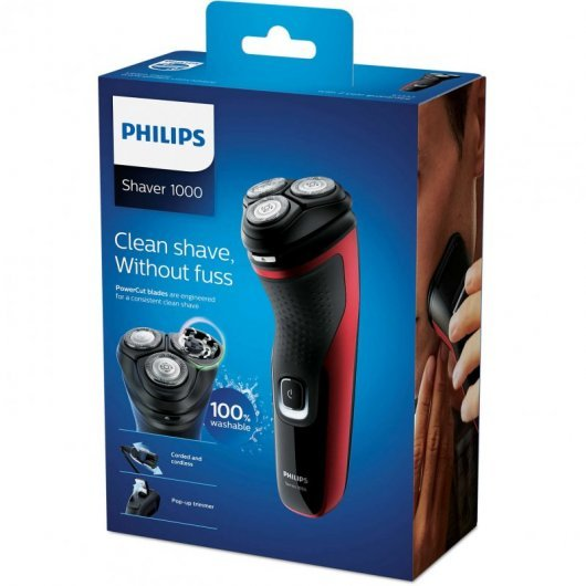 philips s  shaver series  afeitadora electrica en seco mejor precio