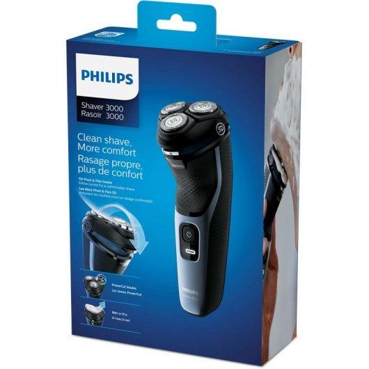 philips shaver series  afeitadora electrica seco humedo caracteristicas