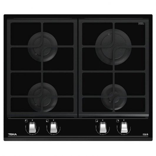 teka gzc  placa de gas natural  zonas cristal negro review