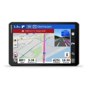 garmin dezl lgv mt d  navegador gps para camiones mapas europa y trafico digital dab