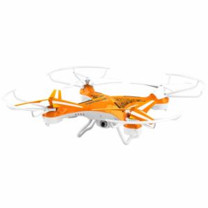 Dron Brigmton 400 2GB 4 Ejes Naranja