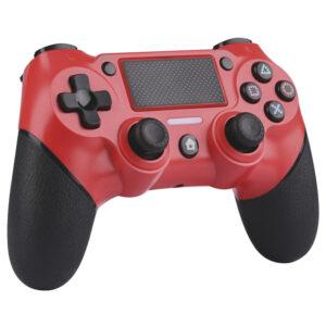 Mando Nuwa PS4 Wireless Rojo