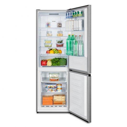 hisense rbnac frigorifico combi a acero inoxidable mejor precio