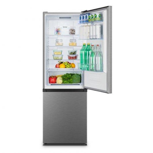 hisense rbnac frigorifico combi a acero inoxidable e cdd af bc eea