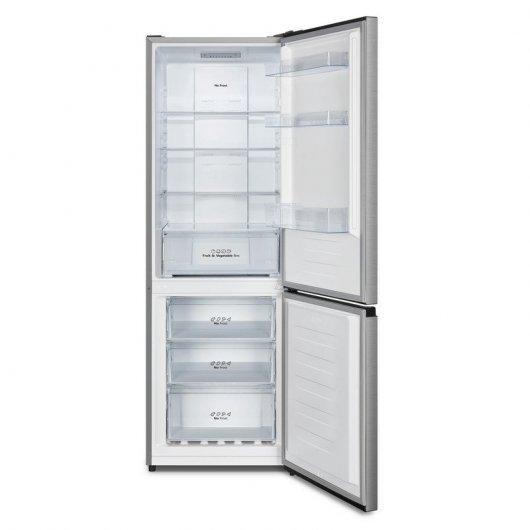 hisense rbnac frigorifico combi a acero inoxidable fcb e bb f ebbbed