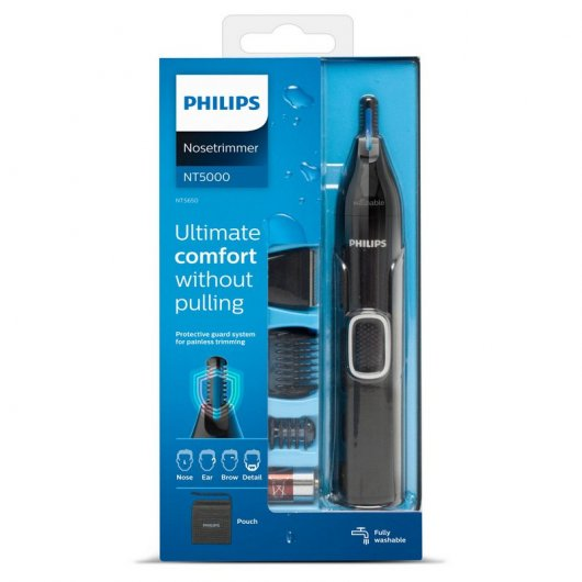 philips nose trimmer series  nt  recortador para nariz orejas cejas caracteristicas