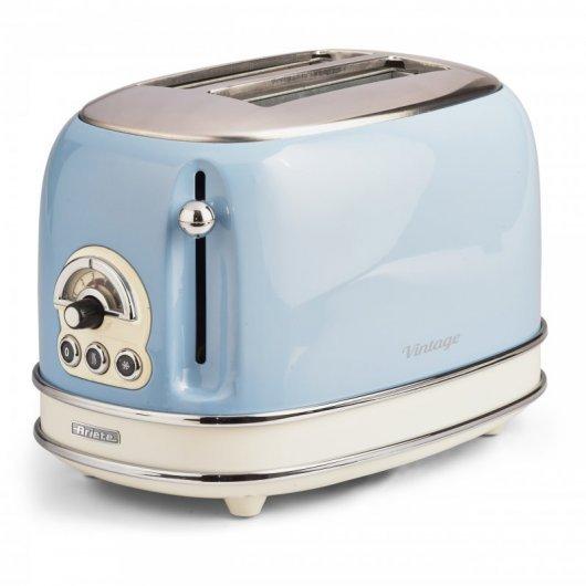 ariete   tostador vintage  ranuras w azul