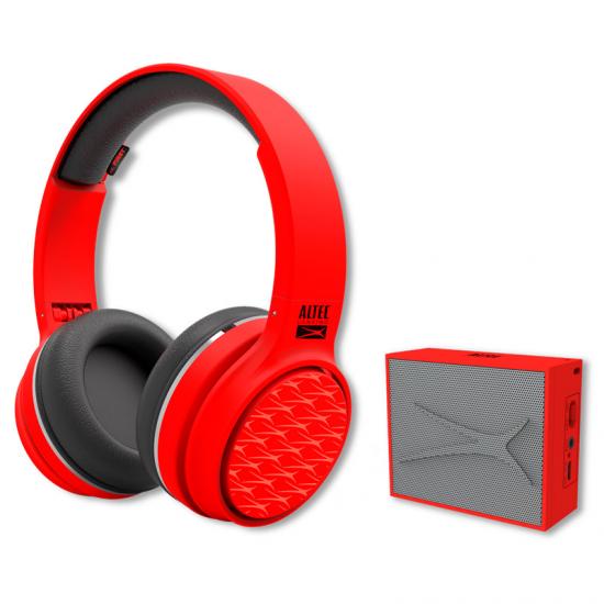 Auriculares Altec Lansing Bundleplay Rojo