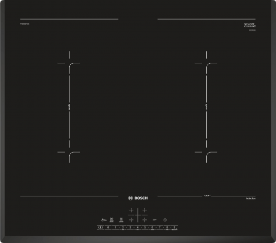 Placa Bosch PVQ651FC5E Negro