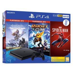 Consola Sony PS4 Slim 500 + Horizon Zero