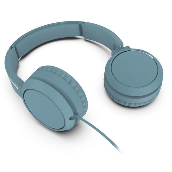 philips tahbl  auriculares azules foto