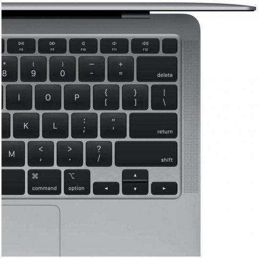 apple macbook air apple m gb gb ssd gpu hepta core  gris espacial caracteristicas