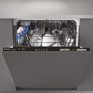 candy brava cdin lpb lavavajillas integrable capacidad  cubiertos a