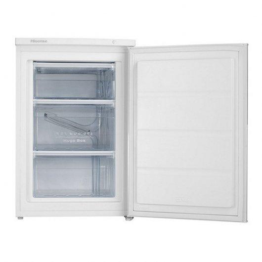 hisense fvdaw congelador vertical l a blanco mejor precio