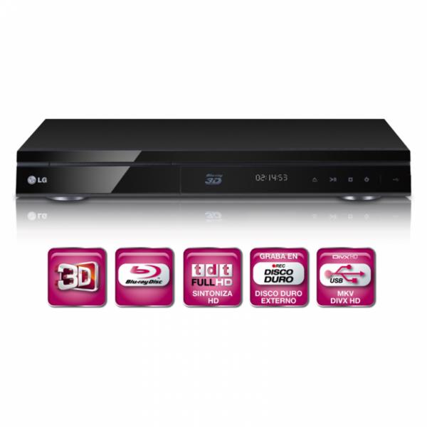 Blu-Ray LG HR720T 3D USB