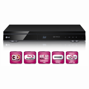 Blu-Ray LG HR825T HDD 500G