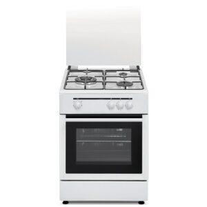 vitrokitchen cbbn cocina de gas natural  zonas horno blanca mejor precio