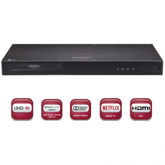 Blu-Ray LG UP970 4K Multi HDR Ultra HD Netflix