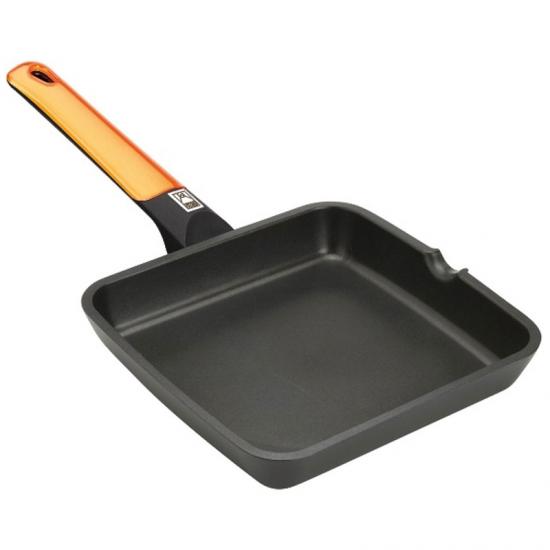 Sartén Grill BRA 28×28 Orange