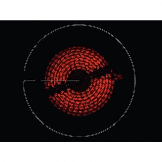 zanussi zhrnk placa vitroceramica  zonas negra foto