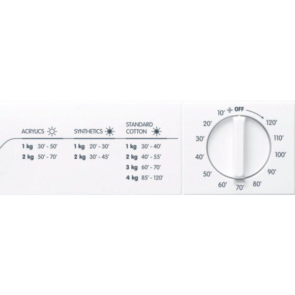 indesit nis  secadora de evacuacion carga frontal kg c blanco review
