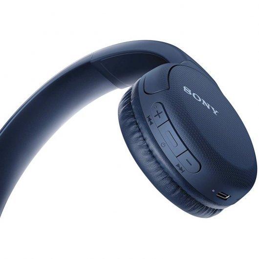 sony wh ch auriculares bluetooth azules especificaciones