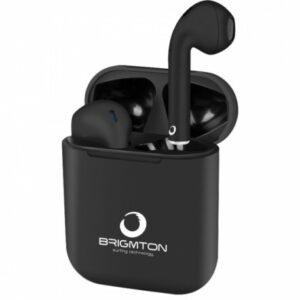 auriculares brigmton bml  bluetooth negro