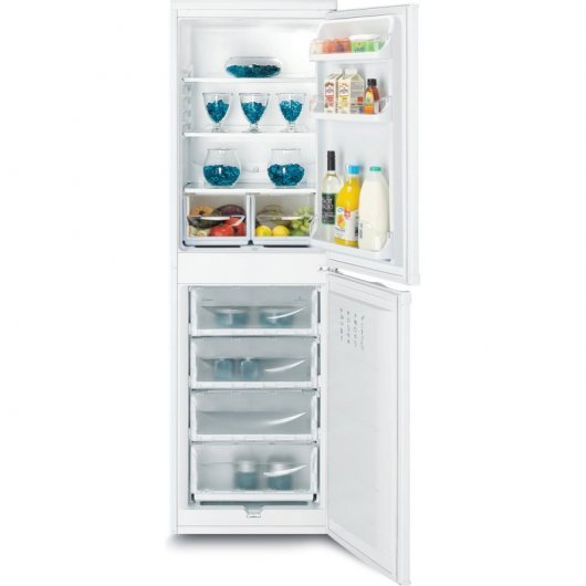 indesit caa   frigorifico combi a blanco fab d  aba bf