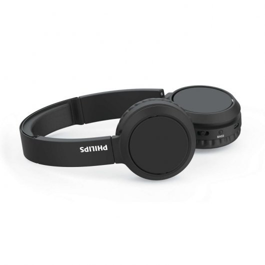 philips tahbk  auriculares inalambricos bluetooth negro especificaciones min