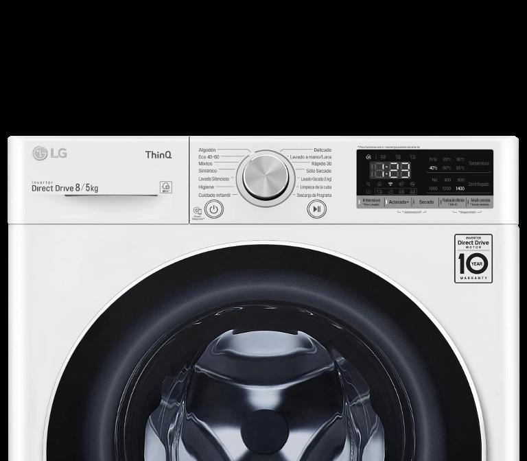 Comprar Lavasecadora LG F4DN4008N0W