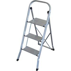 escalerilla almesa  peldanos aluminio