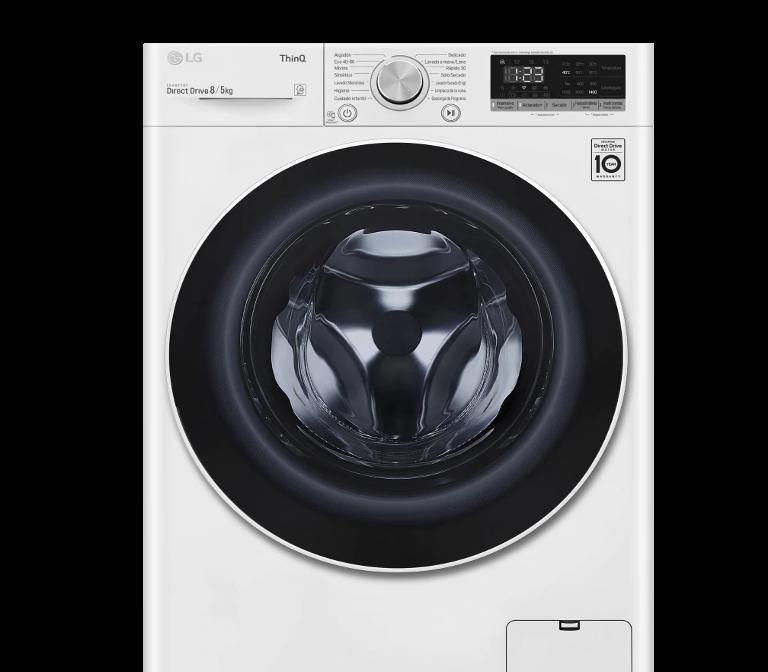 Lavasecadora LG F4DN4008N0W Oferta