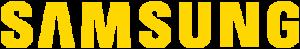 Logo Samsung Amarillo